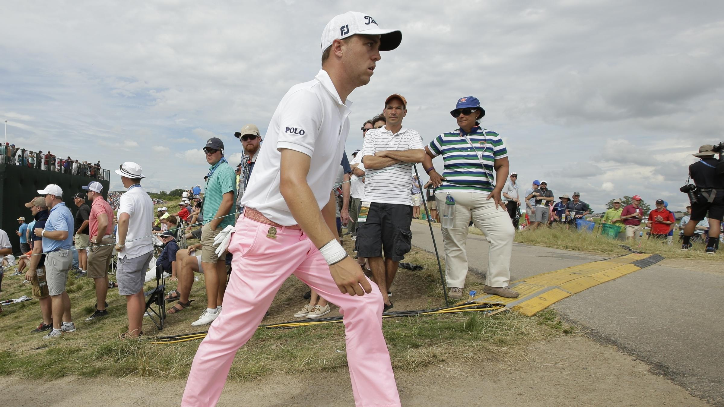 Justin Thomas shoots 63 in 3rd round at US Open